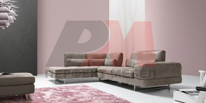 ъглова мека мебел с механизъм класна