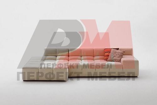 надеждна   ъглова мека мебел с механизъм