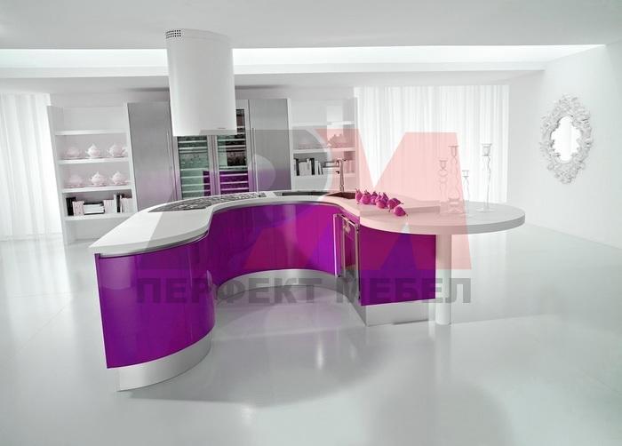 солидни кръгли кухни уникални