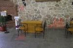 качествени столове от ковано желязо за открита тераса