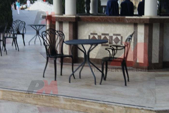Евтини качествени столове от ковано желязо