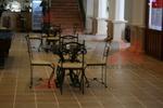 столове от ковано желязо за интериора за заден двор