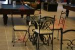 столове от ковано желязо за интериора по проект