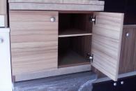 Изработка на шкаф за печка Раховец